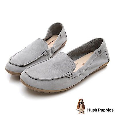 Hush Puppies AIDI 軟Q休閒鞋-灰