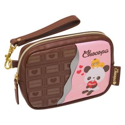 巧克貓熊愛心餅乾系列數位收納包San-X