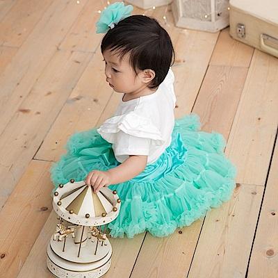日安朵朵 女嬰童雪紡蓬蓬裙 - 小美人魚