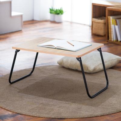 樂活家-木紋輕巧折疊桌/木紋色 60x45x30 cm