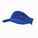 【ZEPRO】魔鬼氈慢跑中空Velcro遮陽帽-寶藍