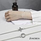 JINCHEN 純銀圈圈手鍊