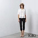 KiKi INLook  氣質娃娃領五分袖上衣(3色)