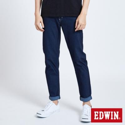 EDWIN JERSEYS 迦績 MED系列 不對稱AB牛仔褲-男-原藍磨