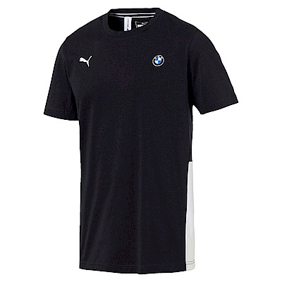 PUMA-男性BMW系列Life短袖T恤-煙煤黑-歐規