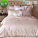 Tonia Nicole東妮寢飾 蝶舞紛飛環保印染萊賽爾天絲緹花被套床包組(加大)