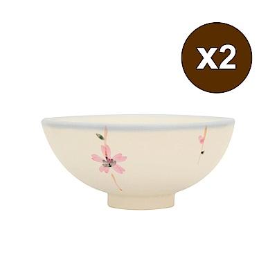 [買一送一]PEKOE飲食器 復古台灣碗.圓碗(櫻花)