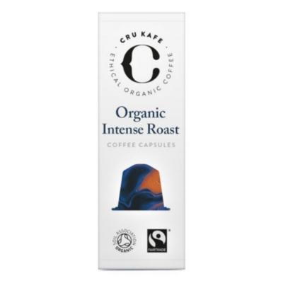 【CRU Kafe ‧ 有機酷咖啡】Organic  | 英國咖啡膠囊 10入/盒