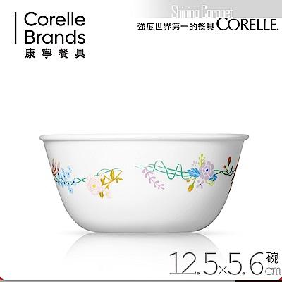 美國康寧 CORELLE 浪漫花冠450ml中式碗