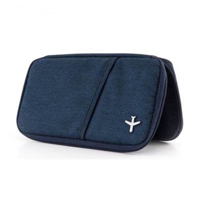 德國TROIKA防盜護照包TRV20/DB防感應卡夾設計款護照包
