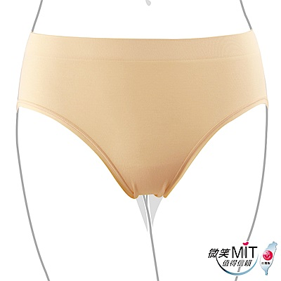 推EASY SHOP-iMEWE 中低腰三角褲(自然膚)