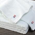 日本派迪 今治飯店用弦月100%純綿柔膚浴巾-純白