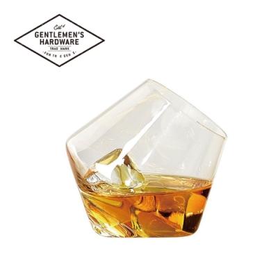 【Gentlemen s Hardware】威士忌搖滾造型玻璃酒杯組-兩入組
