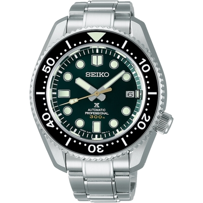 SEIKO精工 PROSPEX 300米潛水創業140周年紀限量紀念機械錶 (SLA047J1)8L35-01E0G-44.2mm