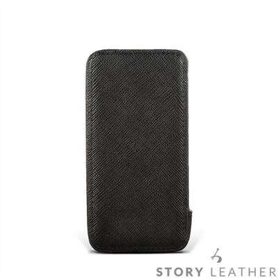 STORYLEATHER SONY Xperia Xz3 眼鏡盒式側開油邊客製化皮套