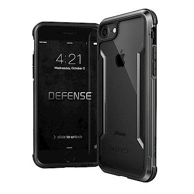 DEFENSE 刀鋒極盾II iPhone 8 / 7 / 6s 耐撞擊手機殼(爵帝黑)