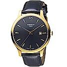 TISSOT天梭TRADITION系列經典時尚腕錶(T0636103605700)