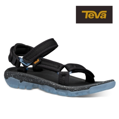 【TEVA】原廠貨 女 Hurricane XLT2 Frost 水晶底機能運動涼鞋/雨鞋/水鞋(黑色-TV1106848BLK)