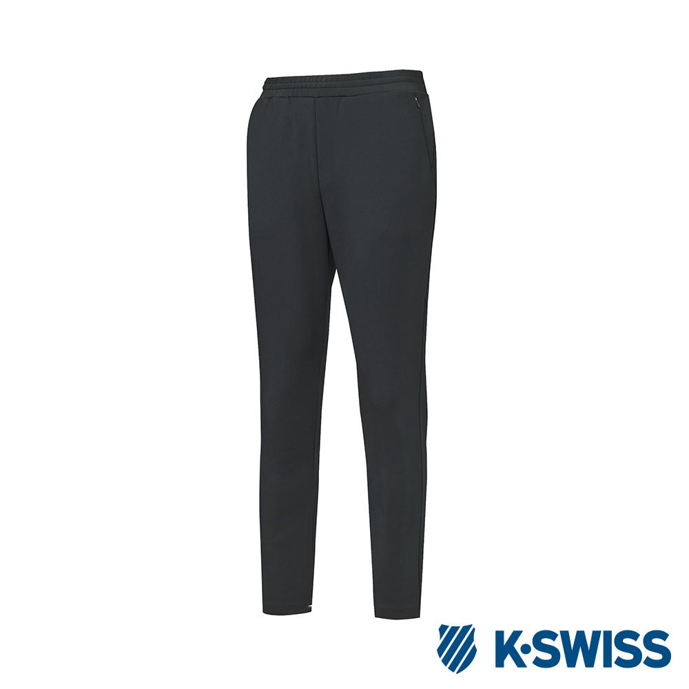K-SWISS Jersey Pants 韓版運動長褲-男-黑 @ Y!購物