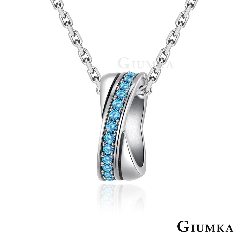 GIUMKA情侶項鍊925純銀吊墜男女短鍊 心中唯一情人節送禮推薦 單個價格(MIT) product image 1