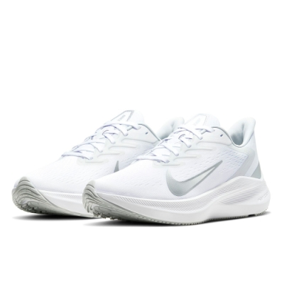 NIKE 慢跑鞋 女鞋  休閒 路跑 健身 運動鞋 白 CJ0302004 WMNS  ZOOM WINFLO 7