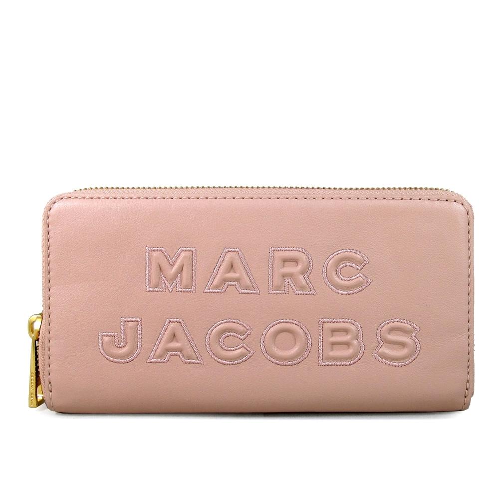 MARC JACOBS 新款浮雕Logo皮革長夾 product image 1