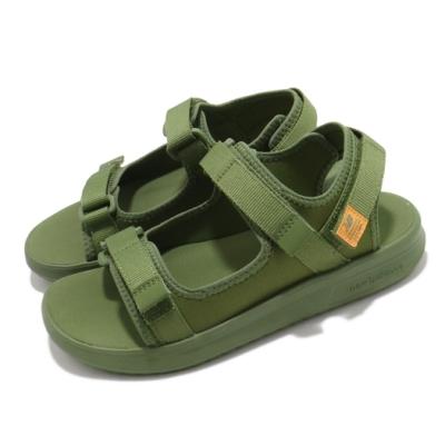 New Balance 涼鞋 750 魔鬼氈 童鞋 紐巴倫 外出 輕便 郊遊 踏青 中童 綠 橘 YH750KHW