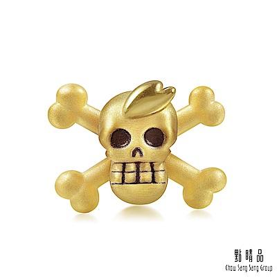 點睛品 Charme 航海王One Piece 喬巴海賊旗 黃金串珠