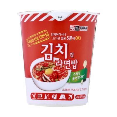 韓國Doori Doori 拉麵拌飯-泡菜味(95g)