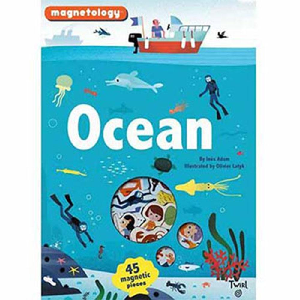 Ocean Magnetology 海洋遊戲磁鐵書