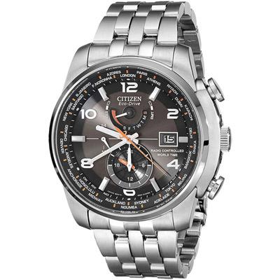 CITIZEN 歷練啟程時尚計時腕錶(AT9010-52E)