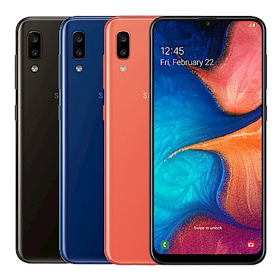 SAMSUNG Galaxy A20(3G/32G) 6.4吋八核心手機