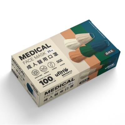 善存 醫用口罩(未滅菌)(雙鋼印)-成人平面 森林系(25入/盒)