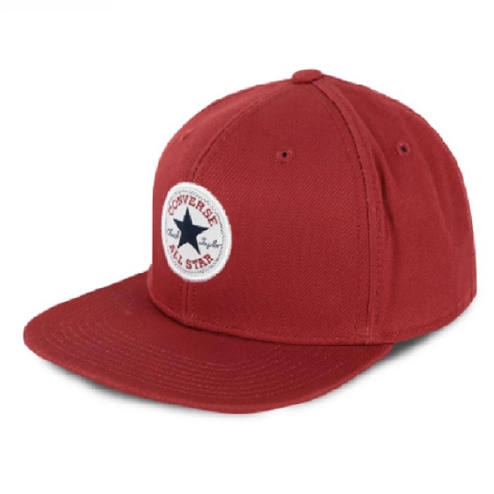 CONVERSE-棒球帽10005220-A04-磚紅