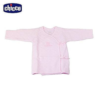 chicco-夾棉肚衣-粉(3-6個月)