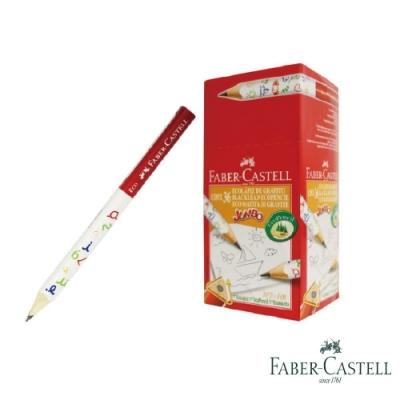 Faber-Castell 紅色系 3/4學齡大三角鉛筆 36入