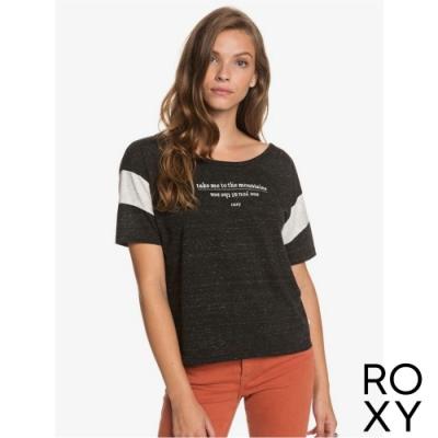 【ROXY】GIRLS DONT MIND A 上衣 黑色