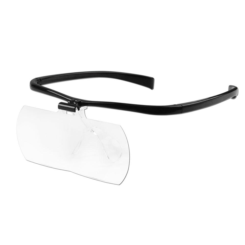 【日本 I.L.K.】1.6x&2x 日本製大鏡面放大眼鏡套鏡 2片組