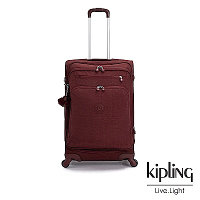 Kipling 醇熟酒紅27吋行李箱-YOURI SPIN 68