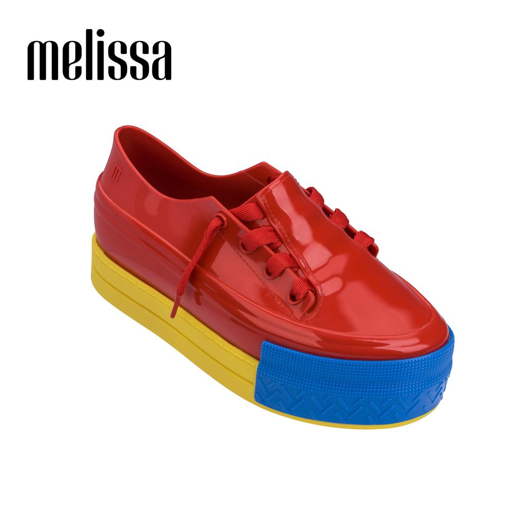 Melissa 休閒厚底鞋-紅色