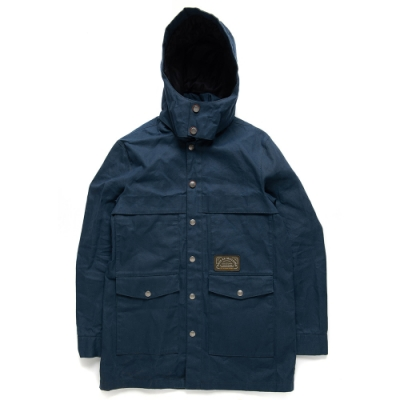 Deus Ex Machina  The Flood Raincoat 外套(藍)