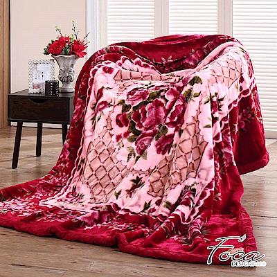 FOCA鑲憶閣  頂極日本2D拉舍爾超細纖維雙層保暖舒毯(大尺寸175x225cm)