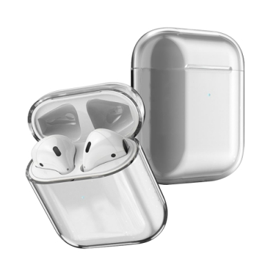 AirPods 1/2 藍牙耳機 透明保護套
