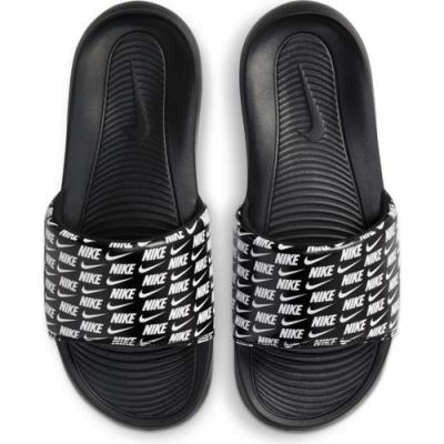 Nike Victori One Slide Print 男休閒涼拖-黑-CN9678006