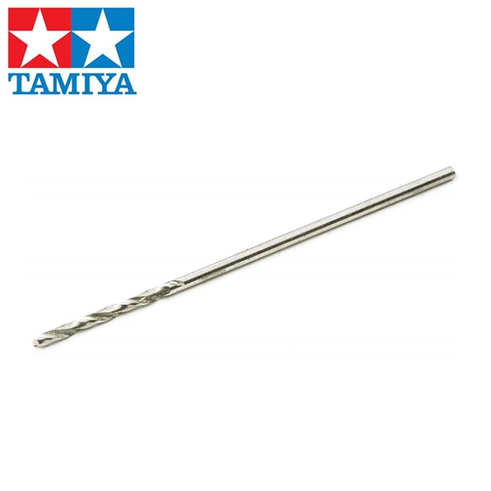 日本田宮TAMIYA極細精密鑽頭(1mm)74095(日本平行輸入)速鋼HSS極細精密鑽頭鑽洞工具