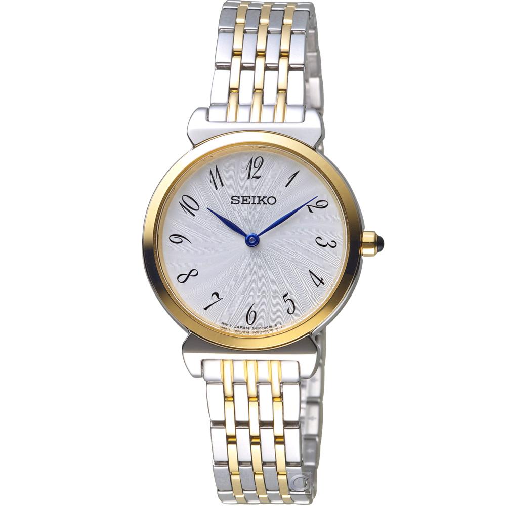 SEIKO 典雅時尚腕錶(SFQ800P1)30mm
