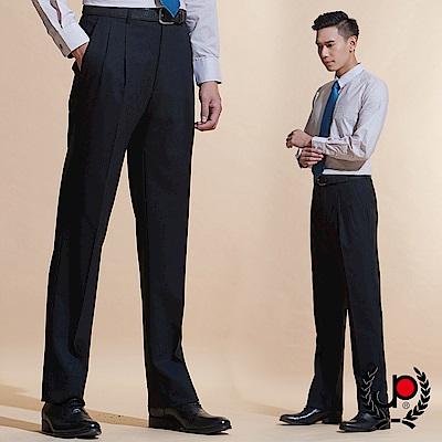 極品西服 品味暗紋緹花毛料雙褶西褲_黑色(BW601-<b>2</b>)