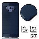 RedMoon 三星 Galaxy Note9 雨絲紋TPU手機軟殼