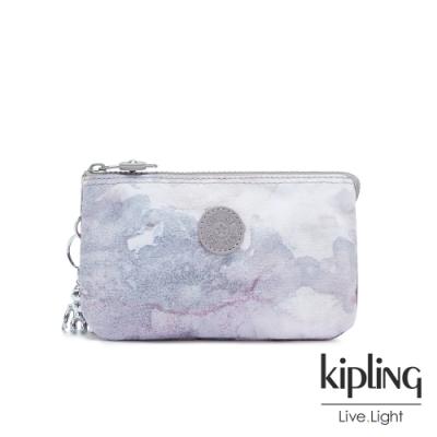 Kipling 淡雅雲彩渲染三夾層配件包-CREATIVITY L