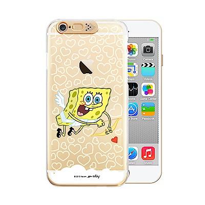 OPENBOX iPhone 6/6S 爆閃手機殼-海綿寶寶 邱比特